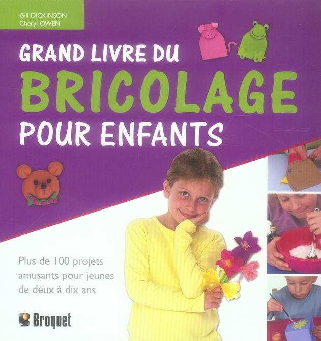 Grand Livre Du Bricolage Pour Enfants
