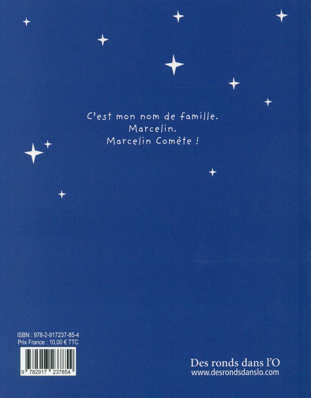 Marcelin Comète ; se balade dans le cosmos