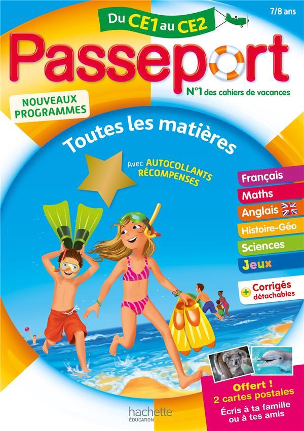Passeport ; toutes les matières ; du CE1 au CE2