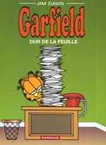 Couverture de Garfield t.30 ; dur de la feuille