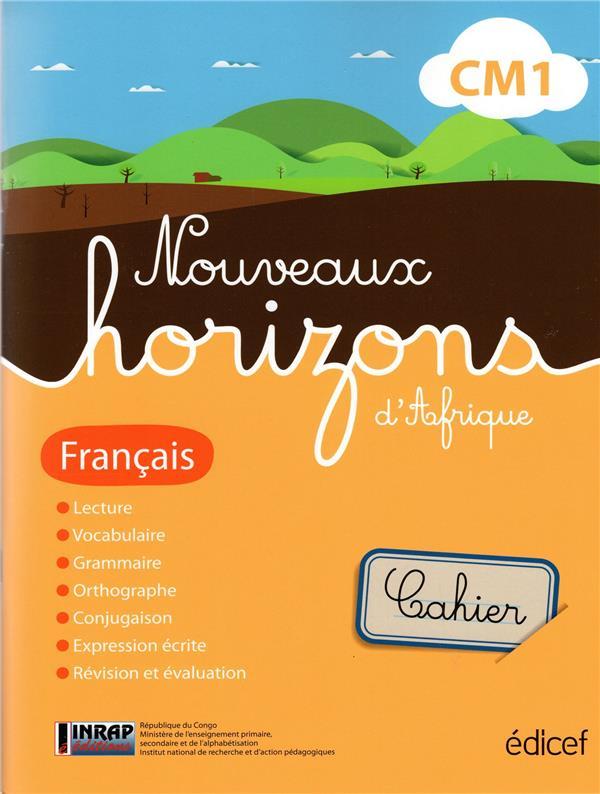 Nouveaux horizons d'Afrique ; français ; CM1 ; Congo ; cahier