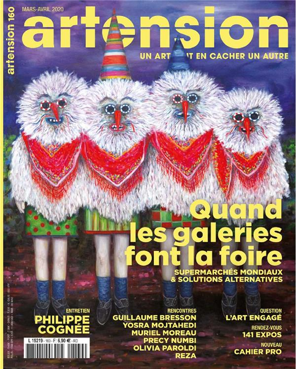 ARTENSION N 160  QUAND LES GALERIES FONT LA FOIRE - MARSAVRIL 2020
