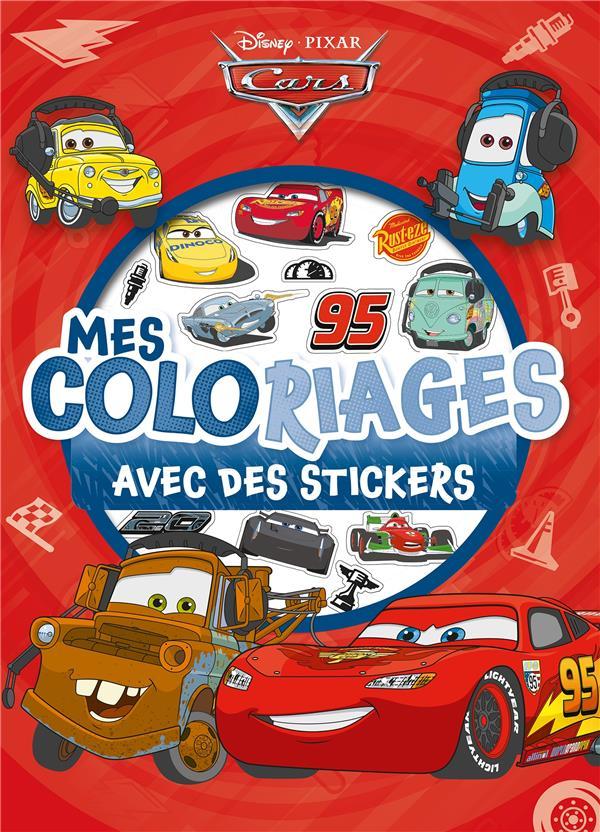 Mes Coloriages Cars Avec Des Stickers Disney Disney Hachette Papeterie Coloriage L Eau Vive Nimes
