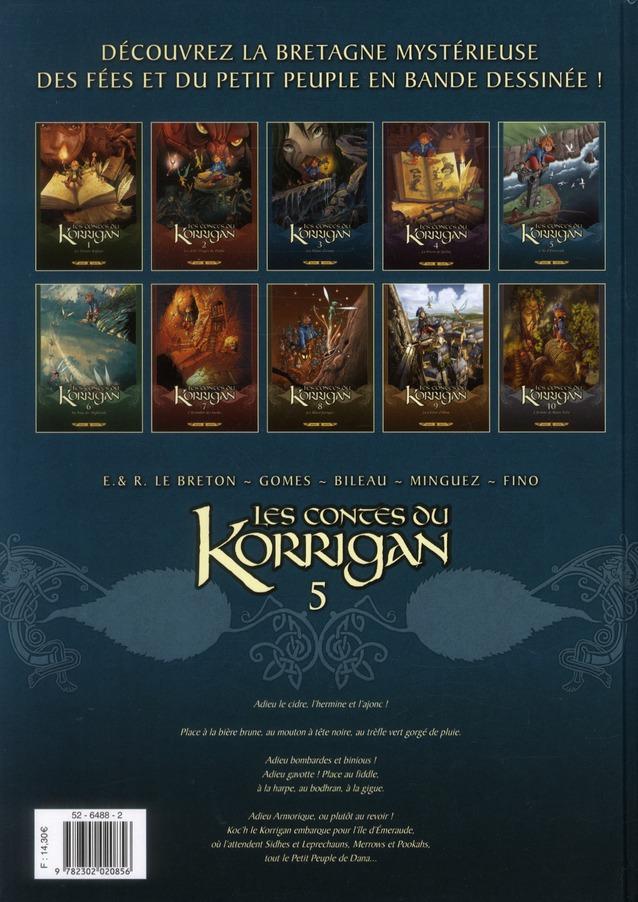 Les contes du Korrigan T.5 ; l'île d'émeraude