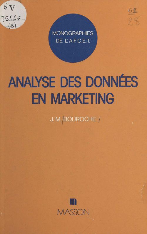 Analyse des données en marketing