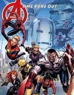Vente Livre Numérique : Avengers Time Runs Out (2013) T04  - Stefano Caselli - Kev Walker - Jonathan Hickman - Mike Deodato Jr