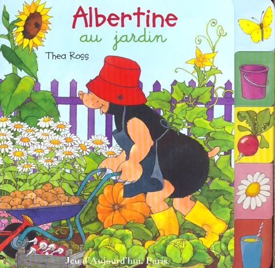 Albertine au jardin