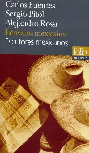 ECRIVAINS MEXICAINSESCRITORES MEXICANOS