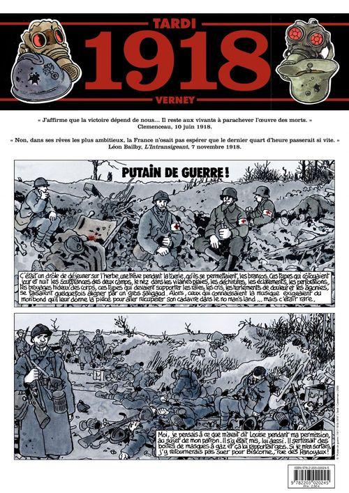 Journal de guerre - 1918  - Jacques Tardi  - Jean-Pierre Verney