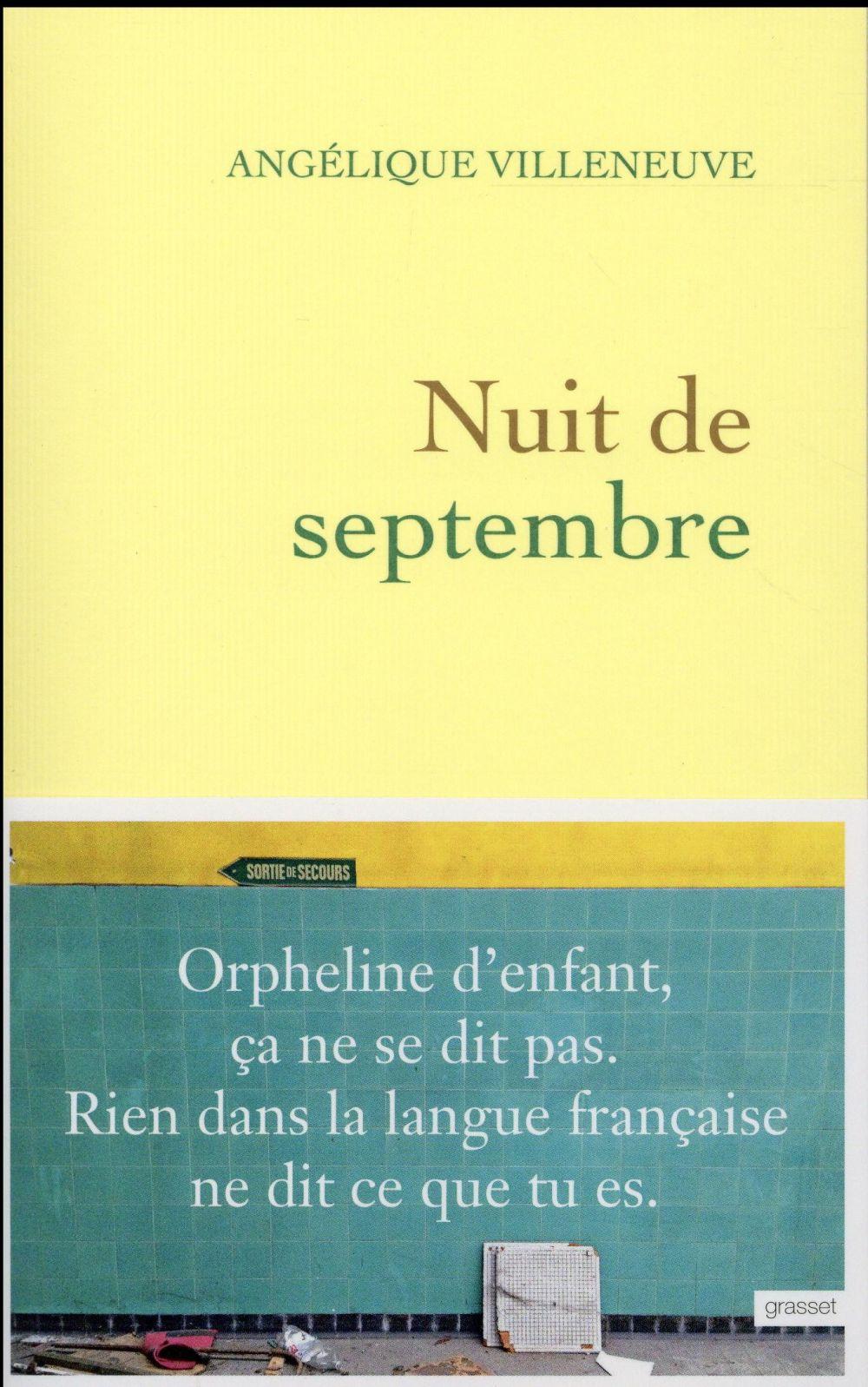 Nuit de septembre