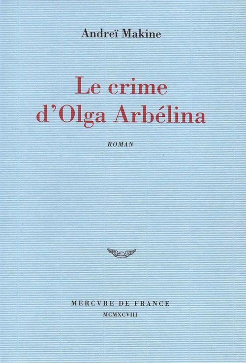 Le crime d'Olga Arbélina