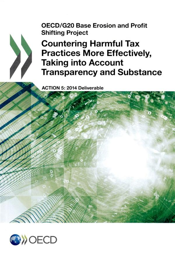 Countering harmful tax pratices more effectively taking into - account transpa-