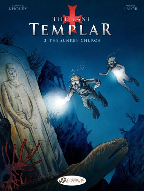 The last templar T.3 ; the sunken church
