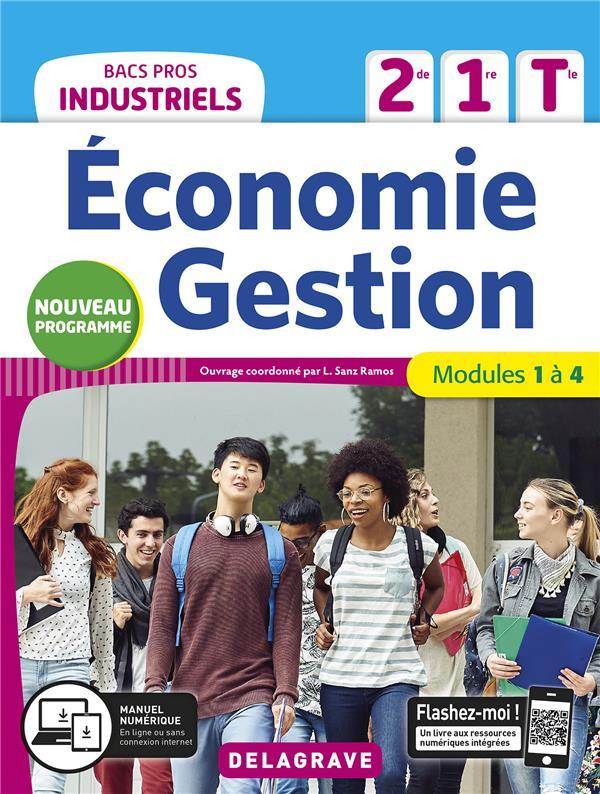 économie-gestion ; 2de, 1re, tle bacs pros industriels ; pochette élève (édition 2020)