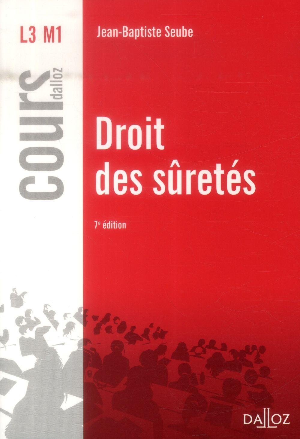 Droit Des Suretes (7e Edition)