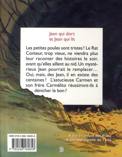 Les P'tites Poules t.7 ; Jean qui dort et Jean qui lit