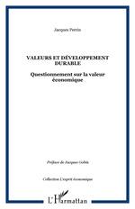 Vente Livre Numérique : Valeurs et développement durable  - Jacques Perrin