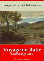 Vente Livre Numérique : Voyage en Italie - suivi d'annexes  - François-René de Chateaubriand