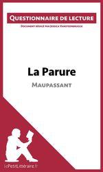 Vente Livre Numérique : La Parure de Maupassant  - Jessica Vansteenbrugge - lePetitLittéraire.fr