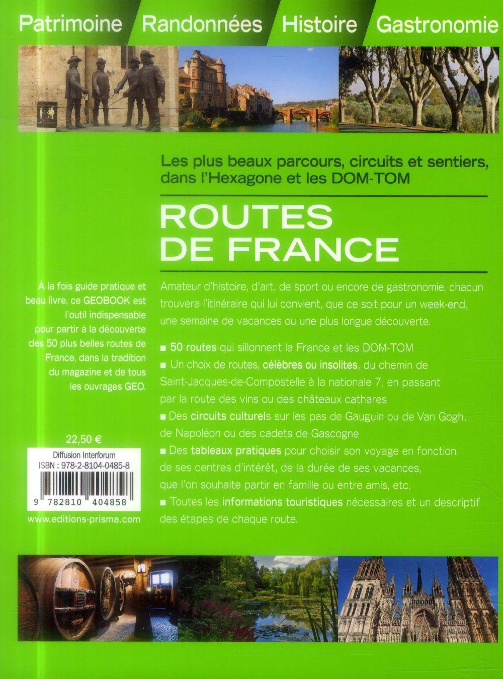 GEOBOOK ; routes de France