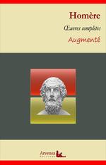 Vente Livre Numérique : Homère : Oeuvres complètes - suivi d'annexes (annotées, illustrées)  - Homère
