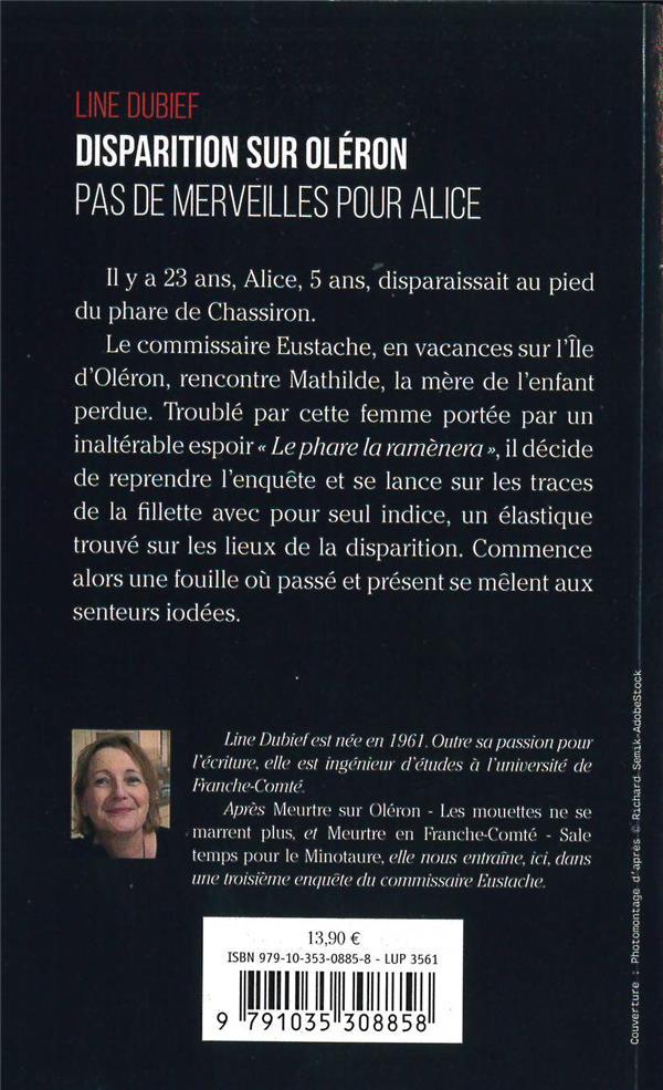 Disparition sur Oléron ; pas de merveilles pour Alice