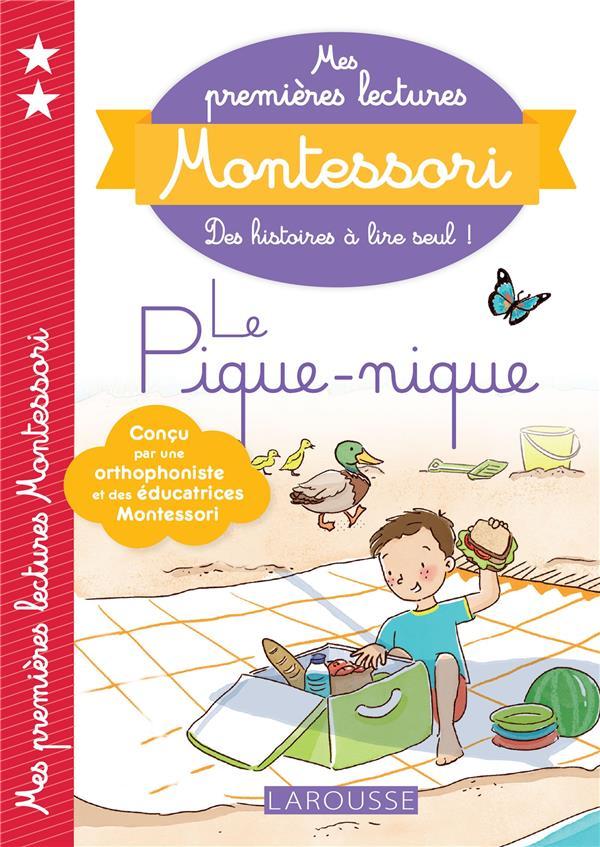 Mes premières lectures Montessori ; le pique-nique