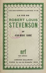 La vie de Robert Louis Stevenson