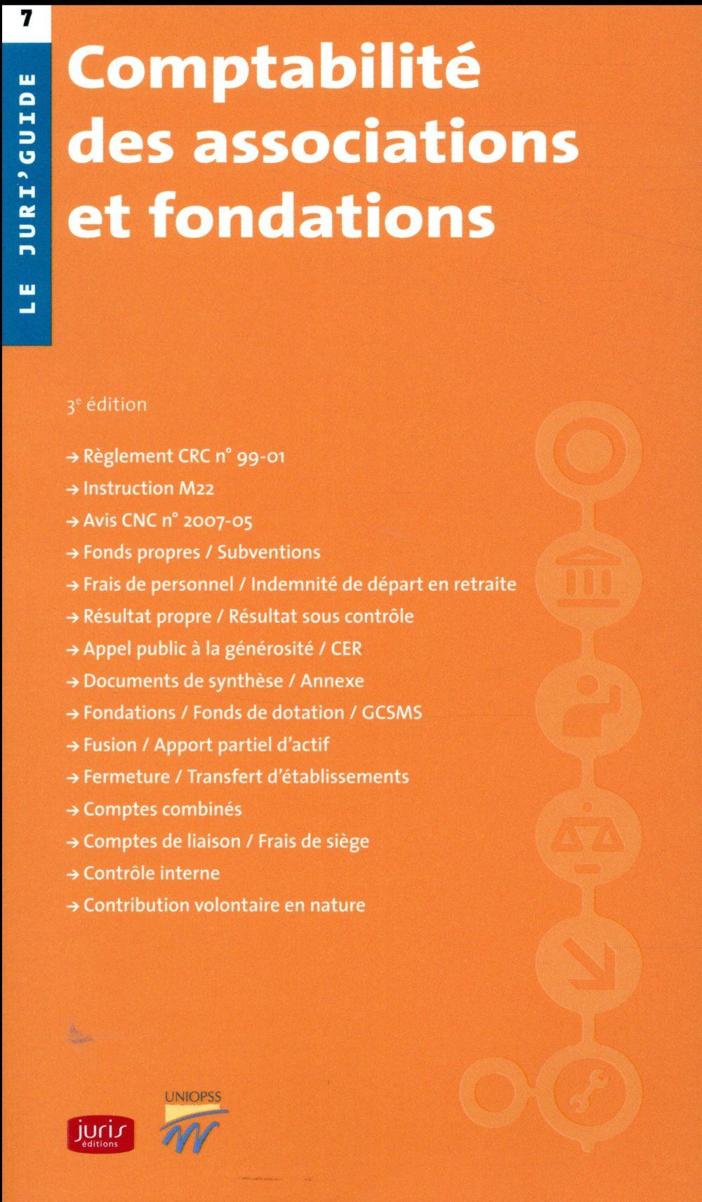 Comptabilité des associations et fondations (3e édition)