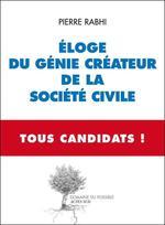 Vente EBooks : Eloge du génie créateur de la société civile - Tous Candidats  - Pierre Rabhi