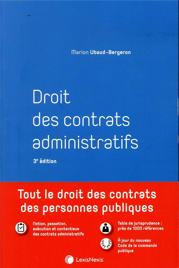 Droit des contrats administratifs (3e édition)