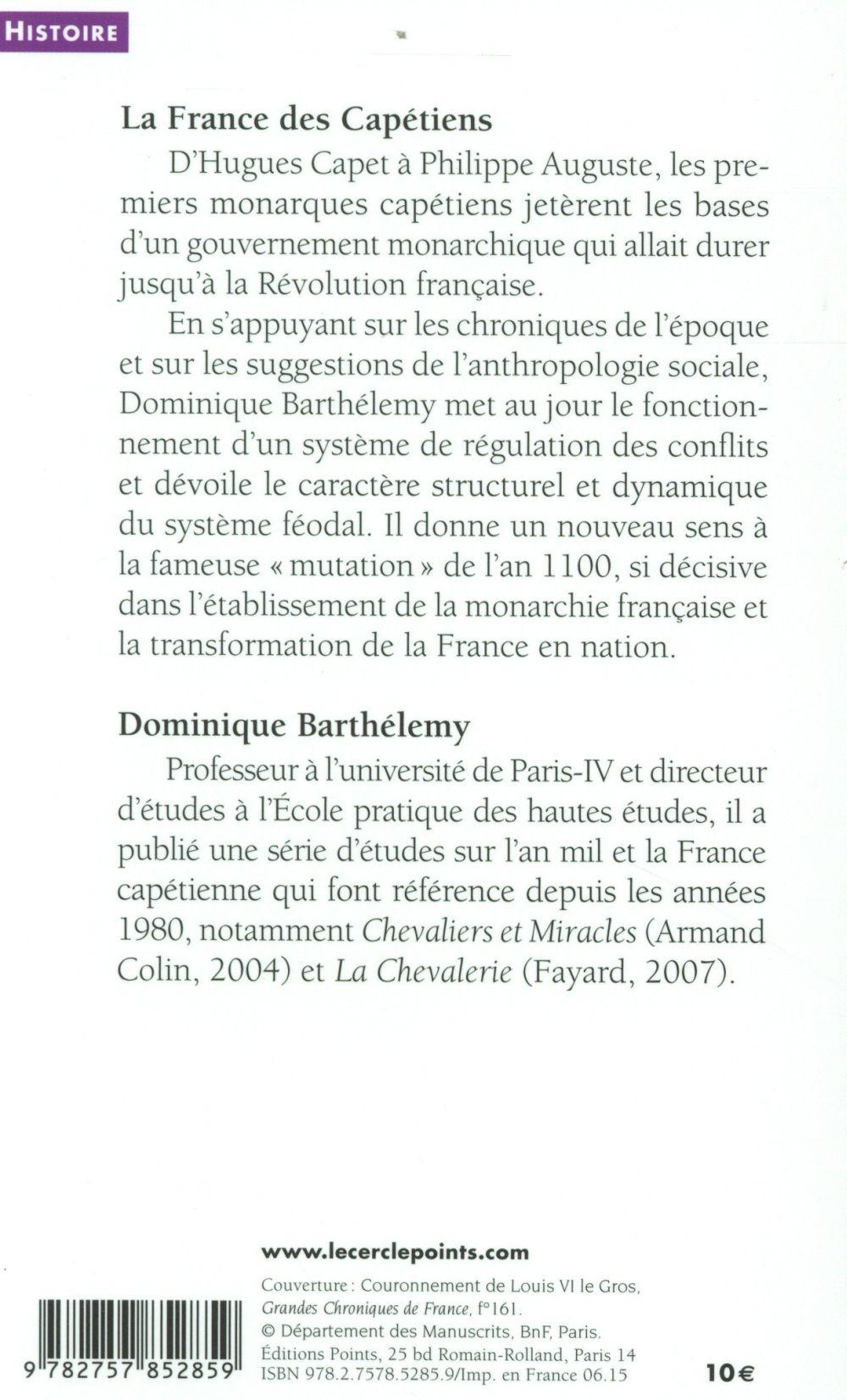 La France des Capétiens, 987-1214