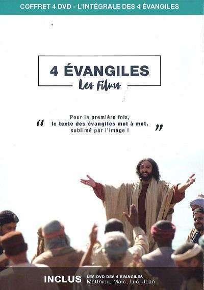 DVD 4 EVANGILES  -  LES FILMS