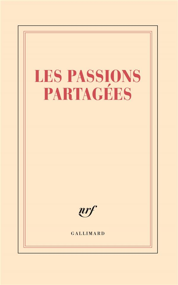 Les passions partagées