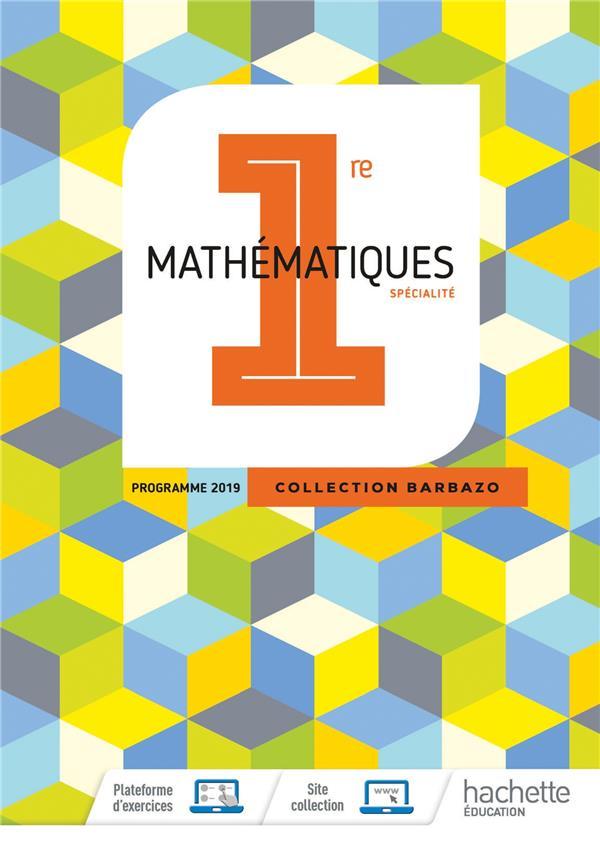 Maths ; 1re ; livre de l'élève (édition 2019)