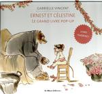 Couverture de Ernest et célestine ; le grand livre pop-up