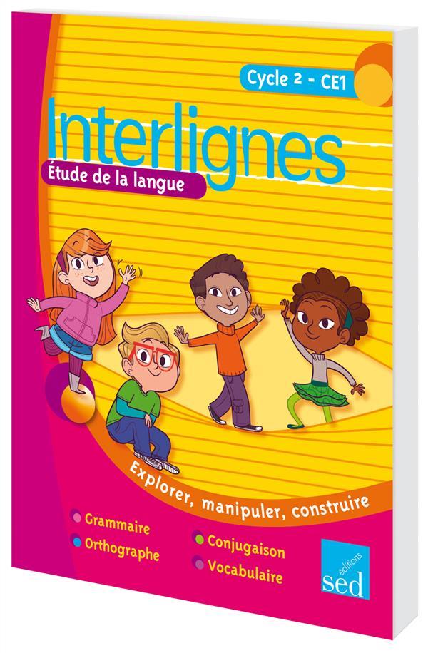 INTERLIGNES ; CE1 ; étude de la langue