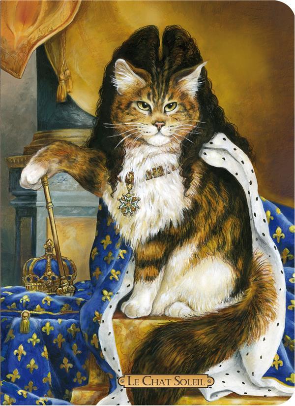Cahier le chat soleil