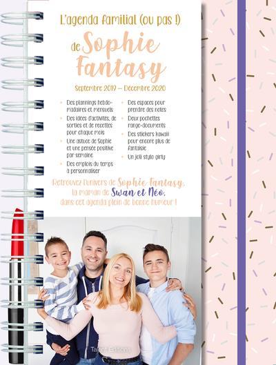 L'agenda familial (ou pas !) de Sophie Fantasy, la maman de Swan et Neo