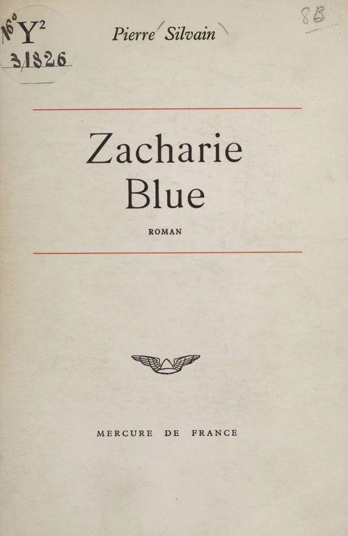 Zacharie Blue