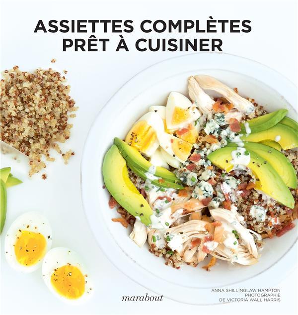 Assiettes complètes ; prêt à cuisiner