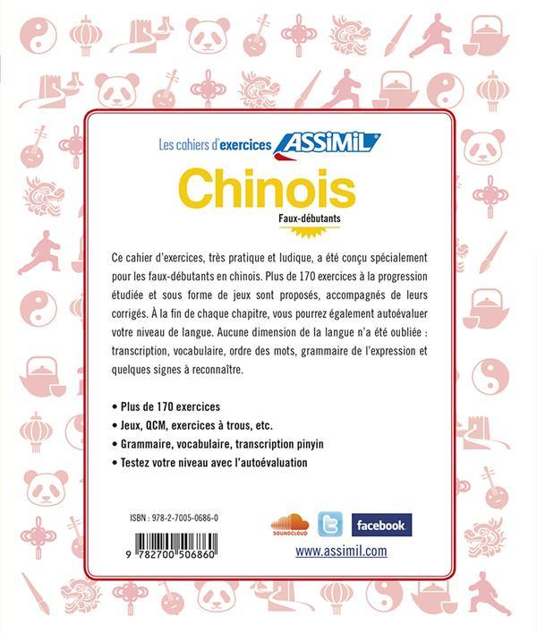 chinois ; faux-débutants