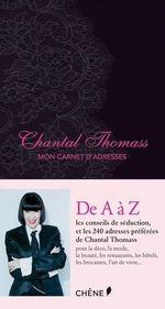 Vente Livre Numérique : Chantal Thomass, Mon carnet d'adresses  - Chantal Thomass