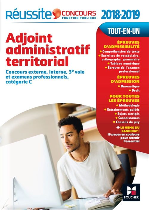Réussite Concours Adjoint administratif territorial  2017 - 2018 N°14