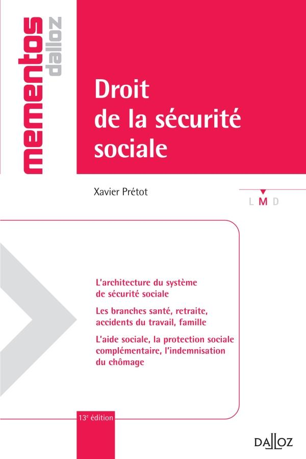 Droit De La Securite Sociale (13e Edition)