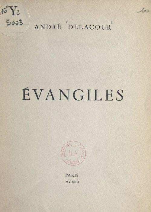 Évangiles