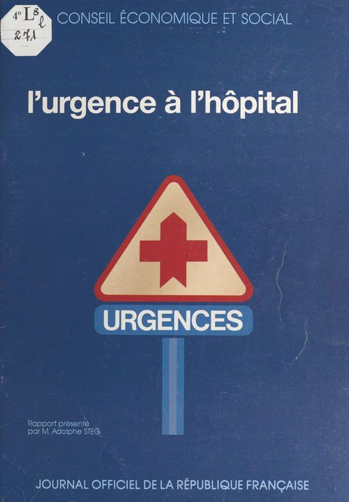 L'urgence a l'hopital