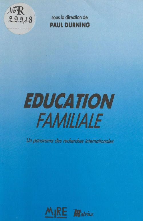 Education familiale