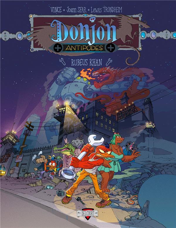 DONJON  -  ANTIPODES  -  -10000  -  RUBEUS KHAN