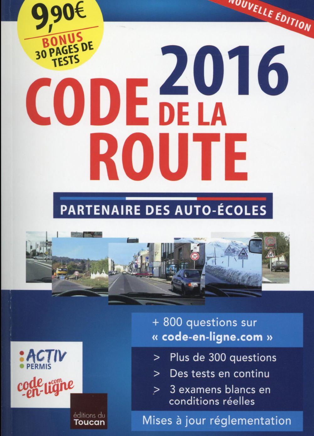 Code de la route (édition 2016)